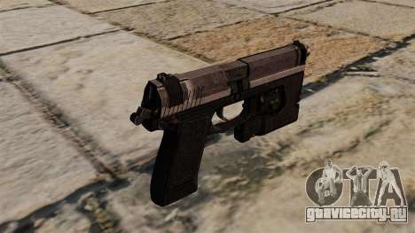 Полуавтоматический пистолет H&K Socom MK23 для GTA 4 второй скриншот