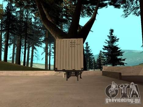 Прицеп MAERSK для GTA San Andreas вид сзади слева