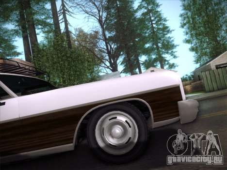 Regina from GTA V для GTA San Andreas вид сзади