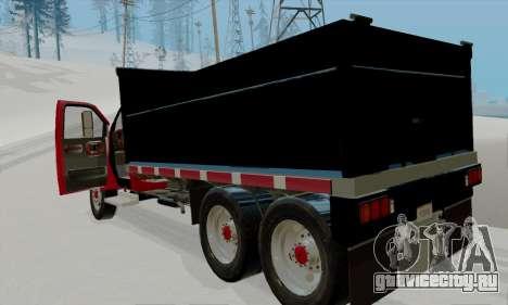 GMC C4500 Topkick для GTA San Andreas вид справа