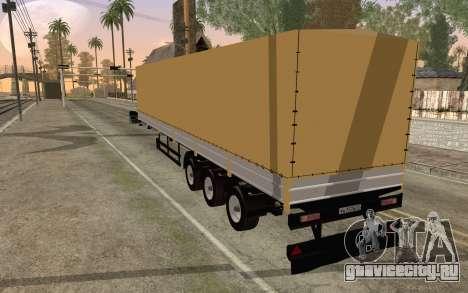 НефАЗ из ДБ2 для GTA San Andreas вид слева