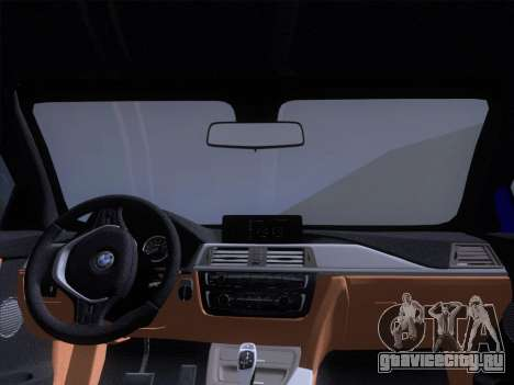 BMW F32 4 series Coupe 2014 для GTA San Andreas вид сверху