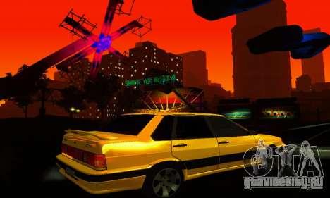 ВАЗ 2115 Light Tuning для GTA San Andreas вид сбоку