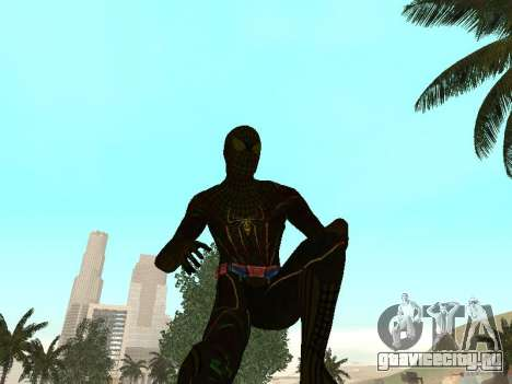 Человек-паук для GTA San Andreas четвёртый скриншот