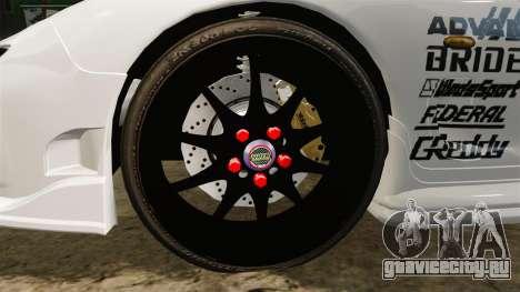 Mazda RX-7 для GTA 4 вид сзади