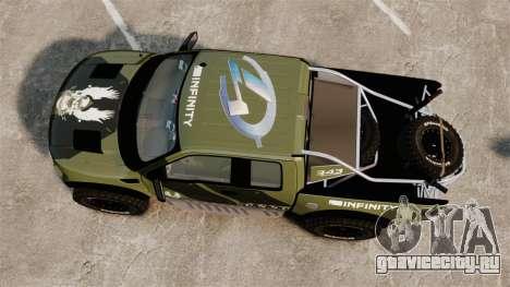 Ford F150 SVT 2011 Raptor Baja [EPM] для GTA 4 вид справа