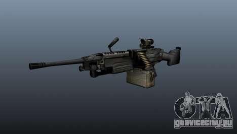 Ручной пулемёт M249 для GTA 4