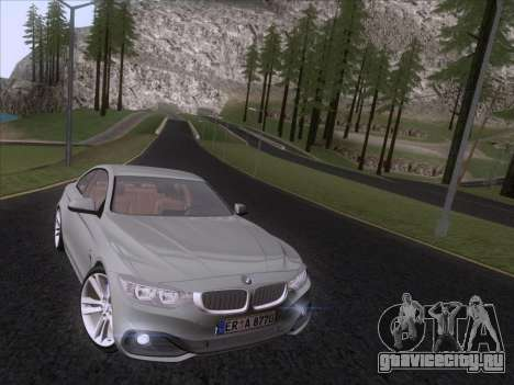 BMW F32 4 series Coupe 2014 для GTA San Andreas