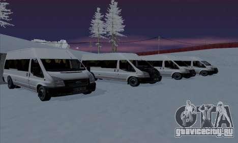 Ford Transit Jumgo для GTA San Andreas двигатель