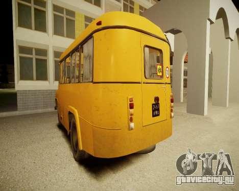 КАвЗ-685 Школьный для GTA 4 вид справа