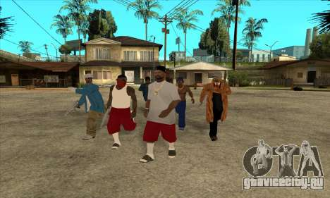 Nigga Collection для GTA San Andreas
