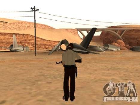 Rick Grimes для GTA San Andreas третий скриншот