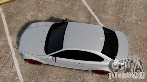 BMW 1 M 2011 для GTA 4 вид справа