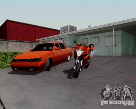 ВАЗ 2110 v2 для GTA San Andreas вид слева