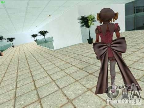 Juliet Starling для GTA San Andreas второй скриншот