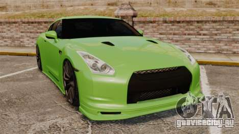 Nissan GT-R SpecV 2010 для GTA 4