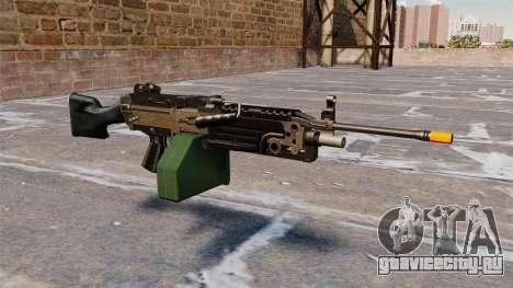 Ручной пулемёт M249 Airsoft для GTA 4