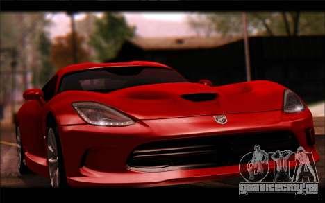 SRT Viper Autovista для GTA San Andreas