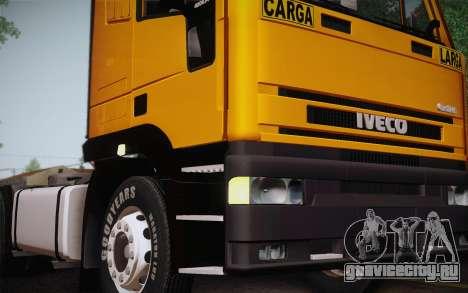 Iveco EuroTech 6x4 Doors для GTA San Andreas вид справа