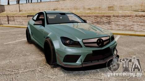 Mercedes-Benz C63 AMG для GTA 4