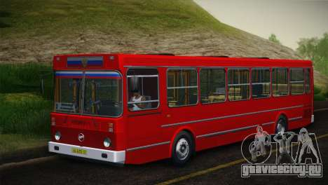 ЛиАЗ 5256.00 Скин-пак 5 для GTA San Andreas вид слева