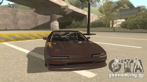 Nissan Silvia S13 для GTA San Andreas вид слева