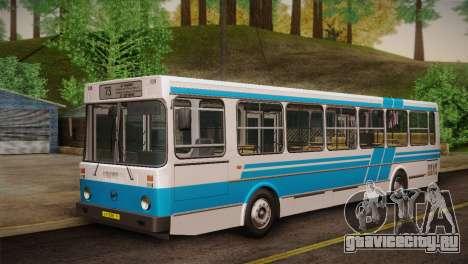 ЛиАЗ 5256.00 Скин-пак 2 для GTA San Andreas вид справа