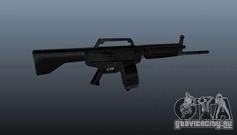Автоматическое ружьё Daewoo USAS-12 для GTA 4 третий скриншот