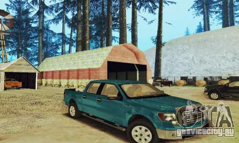 Ford F150 XLT Supercrew Trim для GTA San Andreas