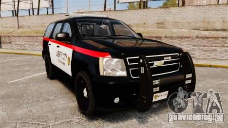 Chevrolet Tahoe 2008 LCPD STL-K Force [ELS] для GTA 4