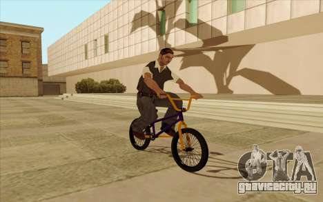 BMX для GTA San Andreas салон
