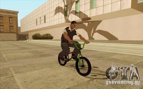 BMX для GTA San Andreas вид сверху