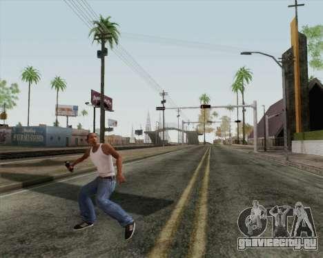 Наступательная граната HD для GTA San Andreas третий скриншот