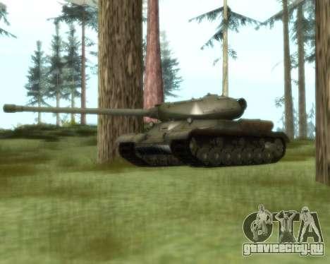 ИС-4 для GTA San Andreas