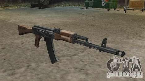 Автомат AK-74 стоковый для GTA 4