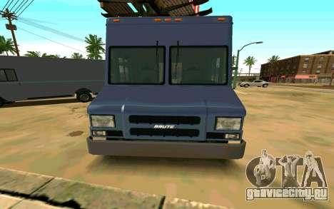 Boxville из GTA 4 для GTA San Andreas вид сзади слева