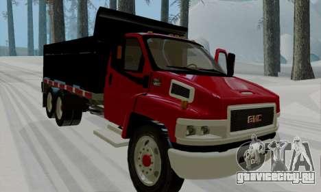 GMC C4500 Topkick для GTA San Andreas вид слева