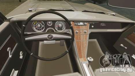 Buick Riviera 1963 для GTA 4 вид изнутри