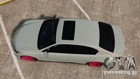 Lexus GS 350 2013 для GTA 4 вид справа