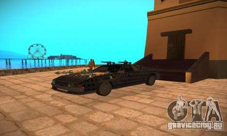 Cheetah Zomby Apocalypse для GTA San Andreas