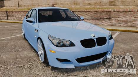 BMW M5 2009 для GTA 4