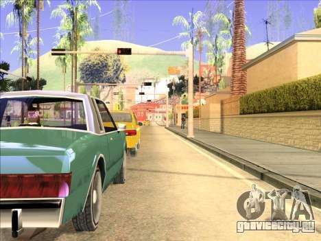 ENB только отражения на машинах для GTA San Andreas второй скриншот