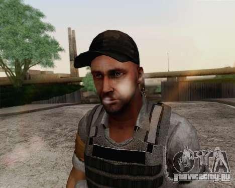 Mercenary из Far Cry 3 для GTA San Andreas третий скриншот