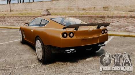 Super GT Ultra для GTA 4 вид сзади слева