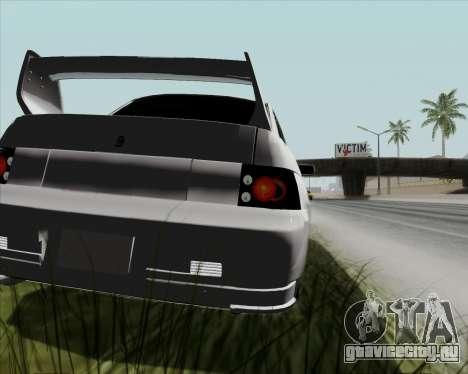 ВАЗ 2110 v2 для GTA San Andreas вид сзади