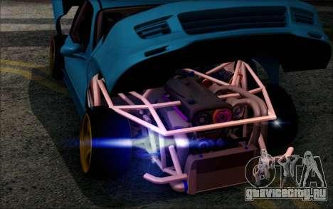 Honda Civic EG6 Tube Frame для GTA San Andreas вид сзади