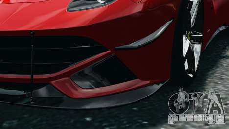 Ferrari F12 Berlinetta 2013 Modified Edition EPM для GTA 4 вид изнутри