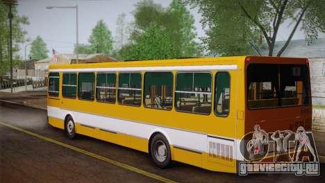 ЛиАЗ 5256.00 Скин-пак 1 для GTA San Andreas вид сбоку