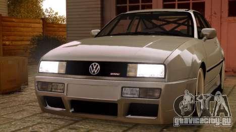 Volkswagen Corrado VR6 1995 для GTA 4 вид справа