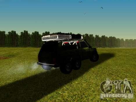 ВАЗ 212140 Охотник для GTA San Andreas вид слева